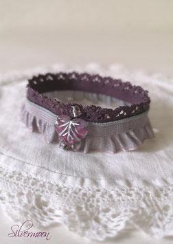 elastisches Armband violett