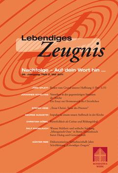 NACHFOLGE - AUF DEIN WORT HIN - 2011 Heft 2 - 66. Jahrgang