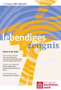 KIRCHE IN DER STADT - 2016 Heft 2 - 71. Jahrgang
