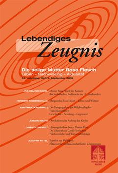 DIE SELIGE MUTTER ROSA FLESCH  - 2009 Heft 3 - 64. Jahrgang
