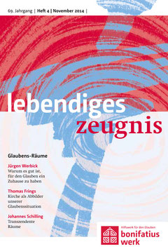 GLAUBENS-RÄUME- 2014 Heft 4 - 69. Jahrgang