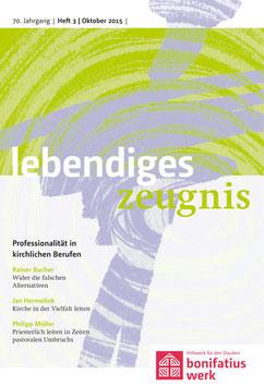 PROFESSIONALITÄT IN KIRCHLICHEN BERUFEN  - 2015 Heft 3 - 70. Jahrgang