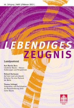 LANDPASTORAL  - 2013 Heft 1 - 68. Jahrgang