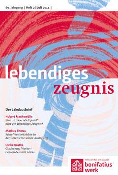 DER JAKOBUSBRIEF - 2014 Heft 2 - 69. Jahrgang