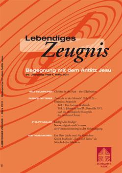 BEGEGNUNG MIT DEM ANTLIZ JESU  - 2011 Heft 1 - 66. Jahrgang