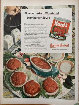 商品番号19066F 雑誌「LIFE」1940年代広告 額なし見開き