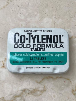 商品番号21007 Co-TYLENOL錠剤缶