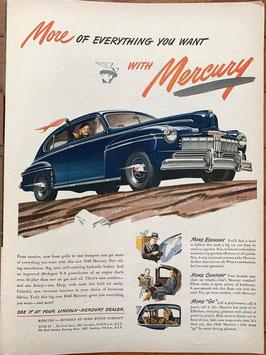 商品番号19066H 雑誌「LIFE」1940年代広告 額なし見開き