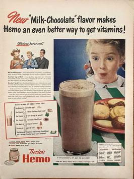 商品番号19066K 雑誌「LIFE」1940年代広告 額なし見開き