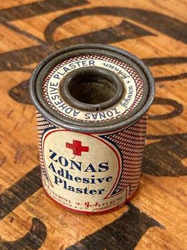 商品番号20144 ブリキの医療テープ缶(Johnson&Johnson)