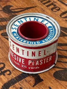 商品番号20143 ブリキの医療テープ缶(SENTINEL)