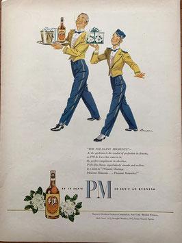 商品番号19066L 雑誌「LIFE」1940年代広告 額なし見開き