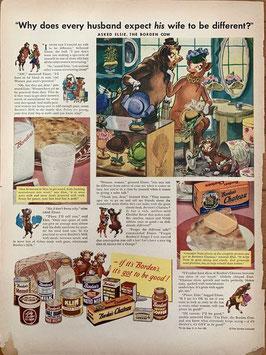 商品番号19066B 雑誌「LIFE」1940年代広告 額なし
