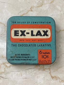 商品番号21006 EX-LAX錠剤缶