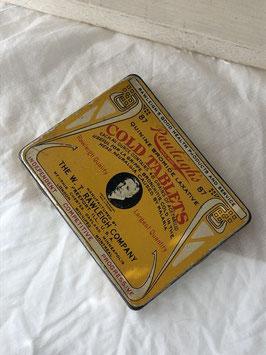 商品番号19007 COLD TABLETS Tin缶