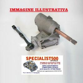 SCATOLA STERZO REVISIONATA FIAT 500 D (da telaio 575439) F L  - CON IL RESO DELLA VECCHIA