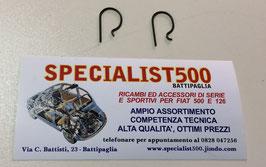 COPPIA MOLLE FERMO CUSCINETTO REGGISPINTA 500 F - L - R - 126