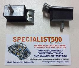 COPPIA  SUPPORTI CAMBIO 500 TT - 126 TT