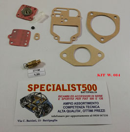 KIT REVISIONE CARBURATORE WEBER 32 OF