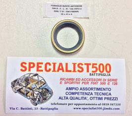 PARAOLIO RUOTA  ANTERIORE  500 D - F - L - R - 126 1à SERIE
