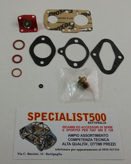 KIT REVISIONE CARBURATORE SOLEX 28 PIB - FIAT 600
