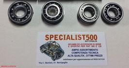 KIT CUSCINETTI SCATOLA CAMBIO  500 TT - 126 TT