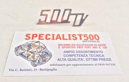 SCRITTA COFANO MOTORE 500 GIANNINI  88x30mm