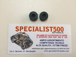 COPPIA GOMMINI PASSAFILI FANALI POSTERIORI 500 - 126 - 600 - BIANCHINA