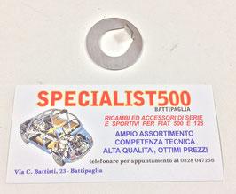 PIASTRINA FERMO VITE PULEGGIA ALBERO MOTORE FIAT 500  - 126