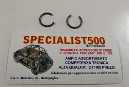 COPPIA ANELLO DI SICUREZZA SEMIASSI FIAT 500 F L R