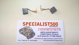 COPPIA CARBONCINI DINAMO 500 F - L - R - 126 1à SERIE - 600 - 850 1à SERIE
