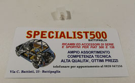 STAFFA FISSAGGIO GUAINA CAVO COMANDO ARIA AL CARBURATORE FIAT 500 R