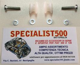 KIT SOSTITUZIONE CARRUCOLE PORTA 500 TT - 126 TT