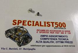 COPPIA RIBATTINI PER FISSAGGIO TELAIO DEFLETTORE FIAT 500