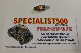 LAMPADINA A LED LUCE DI CORTESIA SPECCHIETTO RETROVISORE FIAT 500