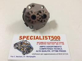 POMPA OLIO MOTORE COMPLETA DI INGRANAGGI 500 - F - L (499 cc) 1968 IN POI