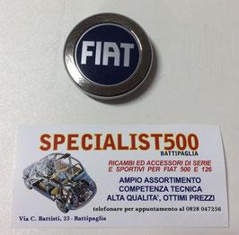 FREGIO FIAT FONDO BLU COPPA RUOTA