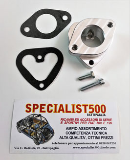 COLLETTORE TESTA 500 & 126 MONOCONDOTTO PER CARBURATORE FIAT 127 - WEBER / HOLLEY 30 / 32 IBA 20 / 22