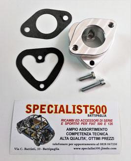 COLLETTORE TESTA 500 & 126 MONOCONDOTTO PER CARBURATORE FIAT 127 - WEBER / HOLLEY 30 / 32 IBA 20 / 22