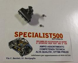 SUPPORTO CROMATO PER MANIGLIA TELAIO DEFLETTORE FIAT 500