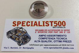 ROSETTA SOTTOMANIGLIA APRIPORTA IN PLASTICA CROMATA  500 L - R - 126