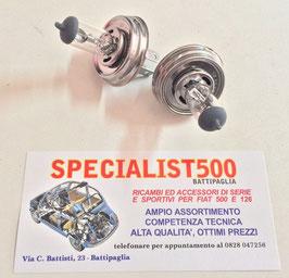 COPPIA LAMPADA ALOGENA H5 LAMPADINA FANALE P45T 12V 60/55W
