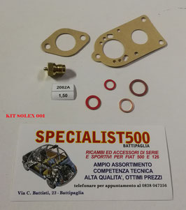 KIT REVISIONE CARBURATORE 500 B - C TOPOLINO - SOLEX 22 BIC