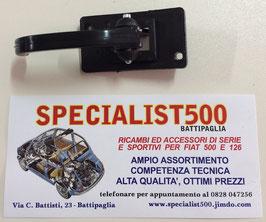 MANIGLIA APRIPORTA INTERNA CON LEVA PLASTICA NERA 500 L - R