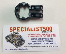 SUPPORTO IN ALLUMINIO PER FISSAGGIO PIANTONE STERZO FIAT 500