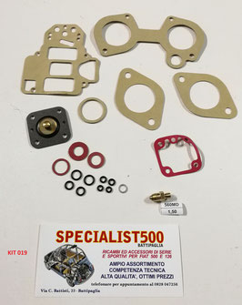 KIT REVISIONE CARBURATORE WEBER DCOM 40