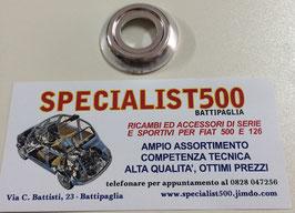 ROSETTA SOTTOMANIGLIA ALZAVETRO TIPO BASSO  IN PLASTICA CROMATA  500 F R