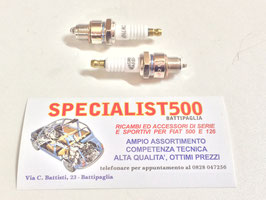 COPPIA CANDELE MAGNETI MARELLI AL PLATINO CW7NP  FIAT 500 - 126