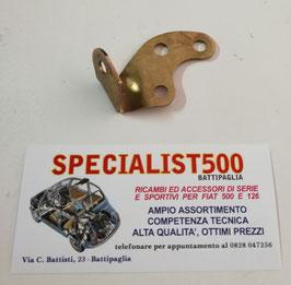 PIASTRA FISSAGGIO MOTORINO DI AVVIAMENTO FIAT 500 R - 126