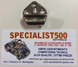 SCONTRO IN METALLO CROMATO LATO CARROZZERIA 500 N - 500 D - 500 GIARDINETTA
